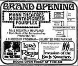 December 20th, 1978 grand opening ad