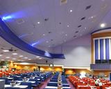 """[""""Auditorium in 2016 showing false ceiling""""]"""