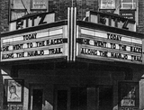 Ritz Marquee August, 1945