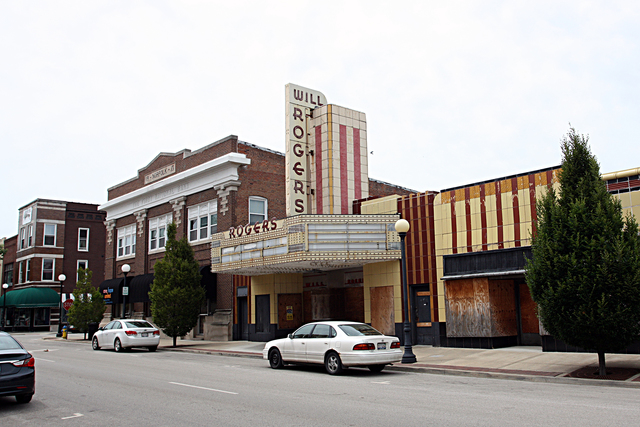 Will Rogers Theatre, Charleston, IL