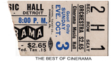 The Best of Cinerama reserved seat ticket stub