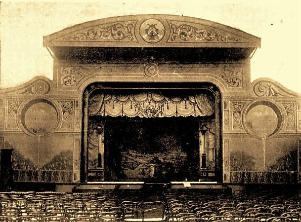 Proscenium arch, Kalgoorlie's Cremorne Theatre