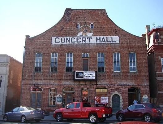 Concert Hall & Barrel Bar