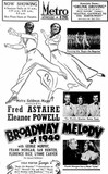 BROADWAY MELODY OF 1940 at Perth's Metro in July 1940