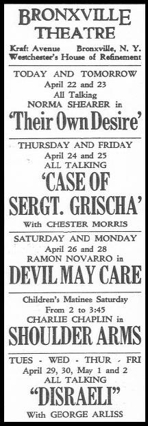 APRIL 22, 1930