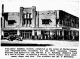 Radio Theatre, Geraldton, 1937