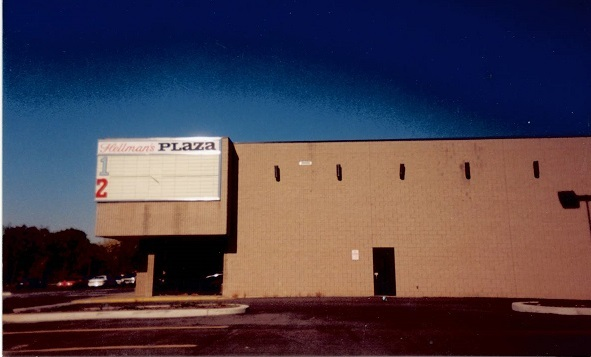 After the theater closed, early 1990's