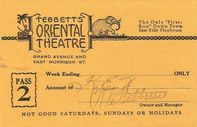 Oriental Theatre