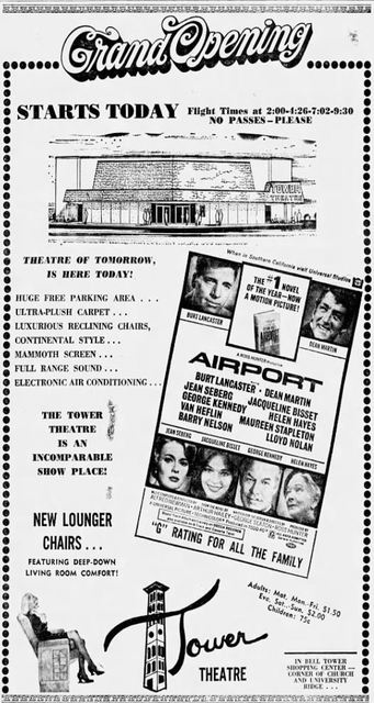 June 12th, 1970 grand opening ad