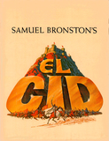 EL CID SOUVENIR PROGRAM COVER