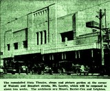 State Theatre (Astor) featured in a news report, 29th April, 1939