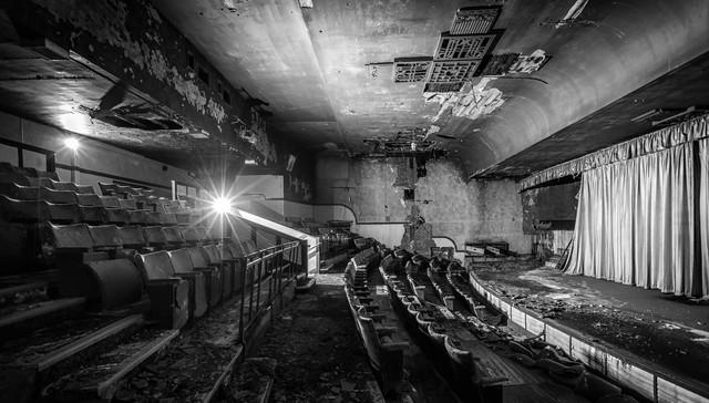 Auditorium Screen 1 old balcony