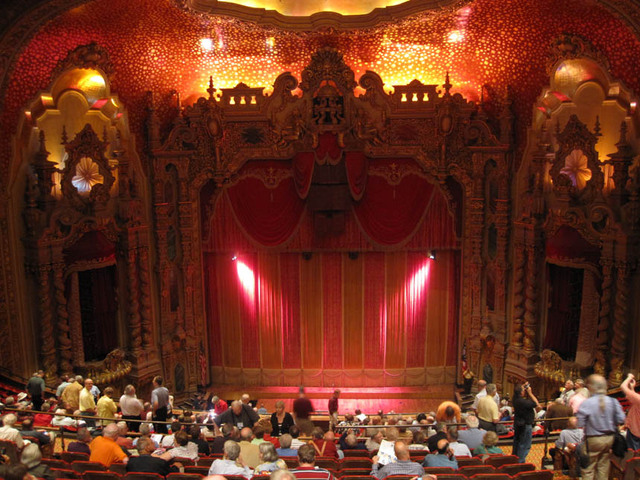 Ohio Theatre - Auditorium towards stage from balcony
