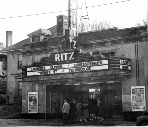 Ritz/Guild theatre with marquee