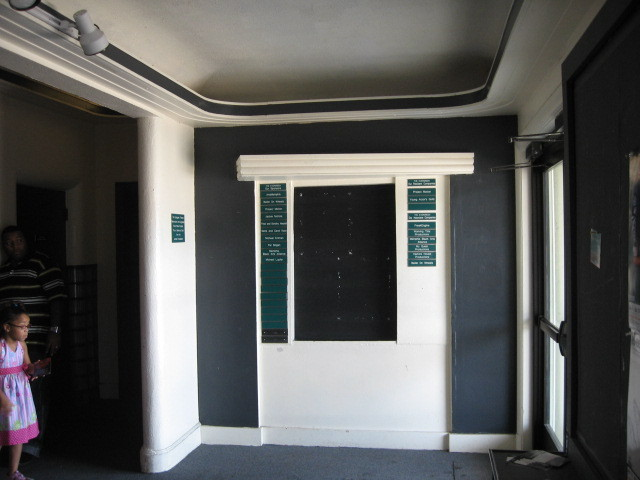 2011 photo of Lobby with boxoffice