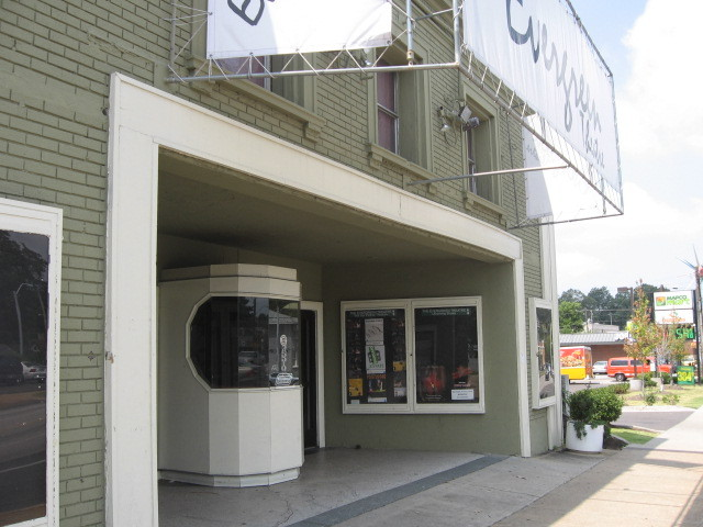 2011 photo showing kiosk and three windows