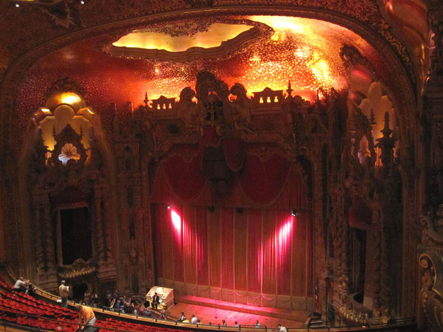 Ohio Theatre (Columbus) - Aiditorium view towards stage