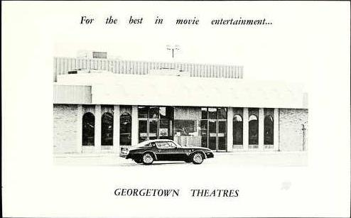 Exterior of Georgetown Square Theater