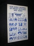 1970s THEATRE CALENDARS