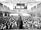 Audience for a concert at Perth's Unity Theatre, 16th June 1927