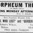 April 9th, 1917 grand opening ad as Orpheum