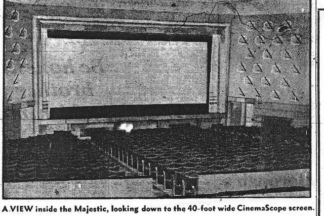 Interior of the Majestic Middlesbrough.