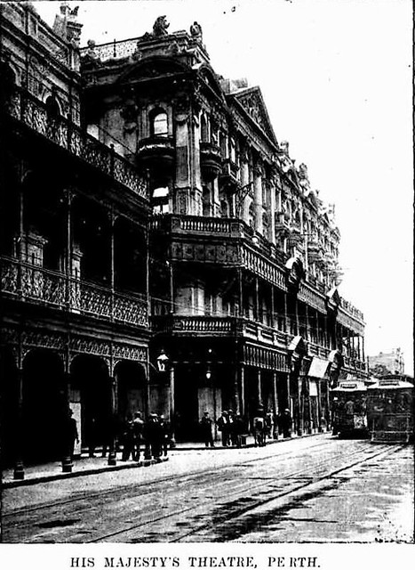 Street view of His Majesty's Theatre