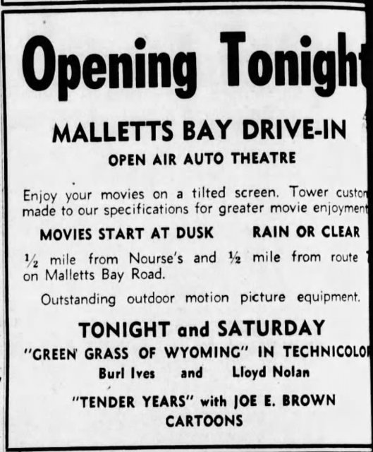 June 24th, 1949 grand opening ad