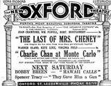 1938 newspaper ad for the New Oxford