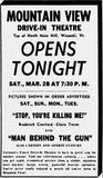 March 28th, 1953 grand opening ad