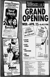 April 25th, 1973 grand opening ad