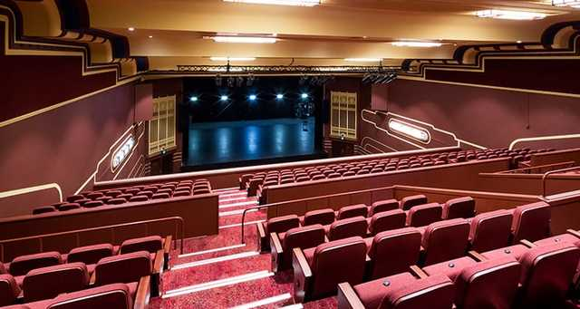 View from the dress circle of the Regal Theatre auditorium 2016