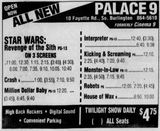 May 20th, 2005 grand opening ad as Palace