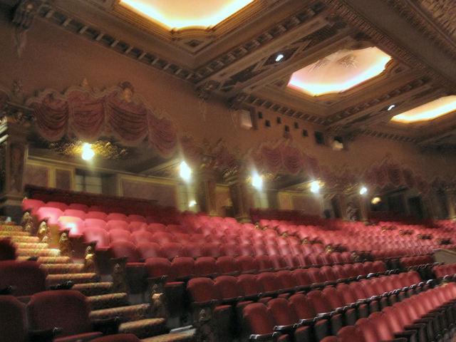 Ohio Theatre (Columbus) - Back of Balcony