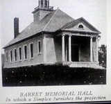 Barret Memorial Hall