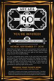 Arcada 90th Anniversary Flyer, courtesy of OShows.