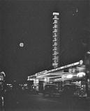 Atmospheric night shot of Perth's Ambassadors
