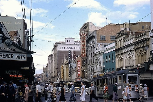 Queen Street, Brisbane 1958