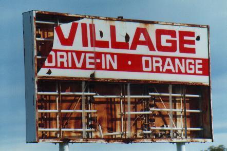 Village Orange Drive-In