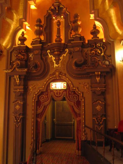 Ohio Theatre (Columbus) - Exit Door