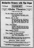 November 5th, 1912 grand opening ad