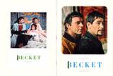 "SOUVENIR PROGRAM ""BECKET"" UNITED ARTISTS THEATRE"
