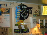 99W Drive-In's Concession Stand Clock