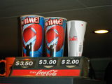 99W Drive-In's Concession Stand Coke Prices & Sizes