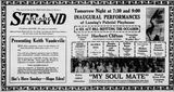 April 20th, 1921 grand opening ad