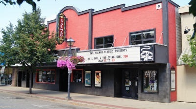 Movie salmon arm
