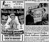 July 13th, 1962 grand opening ad and article as Campus