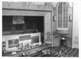 In the Bingo era organ being removed(grilles to right of proscenium)