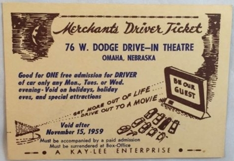 76 West Dodge Drive-In