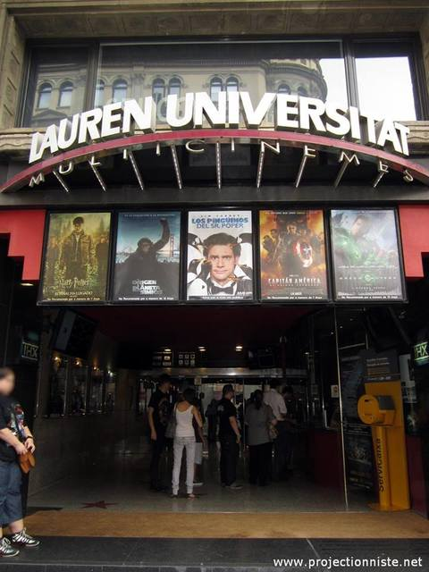 Cines Lauren Universitat 1-4